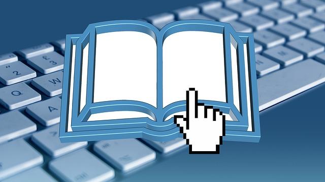 livre clavier clic de souris