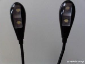 lampe de lecture avec 4 led