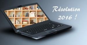 résolution 2016 chroniques livres