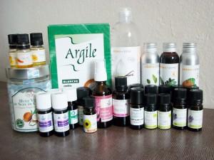 Adoptez la slow cosmétique huiles essentielles, argile, vitamine E, actif...