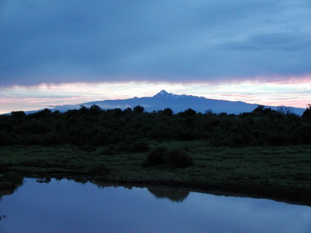 Mont Kenya Latitude zéro