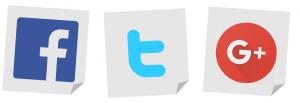 facebook twitter google +