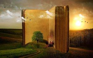 Prendre-soin-de-soi-par-les-livres-bibliothérapie-livre-oiseau-paysage