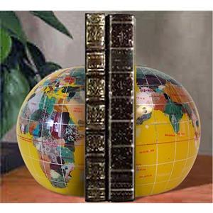 serre livre globe en pierre